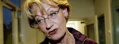 Gudrun Schyman. Foto: Olle Sporrong