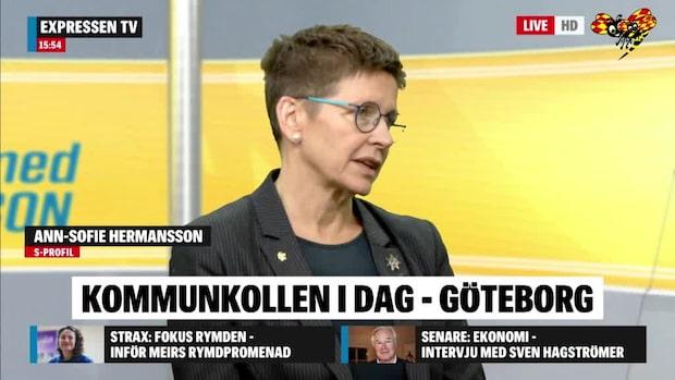 Kommunkollen: Petade S-toppen om framtiden för Göteborg