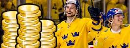 Miljonregnet om det blir svenskt VM-guld