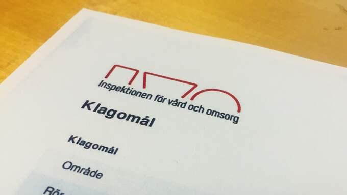 Händelsen har anmälts till Inspektionen för vård och omsorg, Ivo. Foto: SANNA WIKSTRÖM