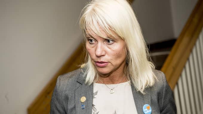 Carina Wutzler, kommunalråd, och övriga moderater i Vellinge vill införa Foto: CHRISTIAN ÖRNBERG