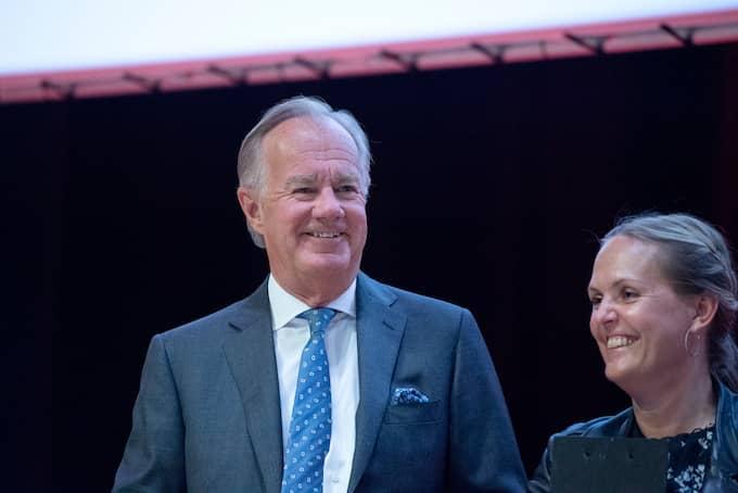 Stefan Persson under H&M:s årsstämma i förra veckan. Foto: JESSICA GOW/TT / TT NYHETSBYRÅN