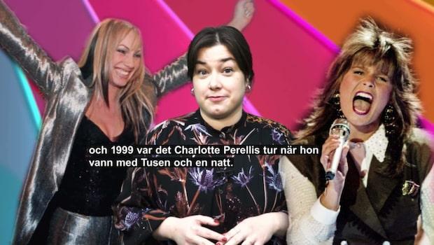 Melodifestivalens historia – från 1958 till i dag