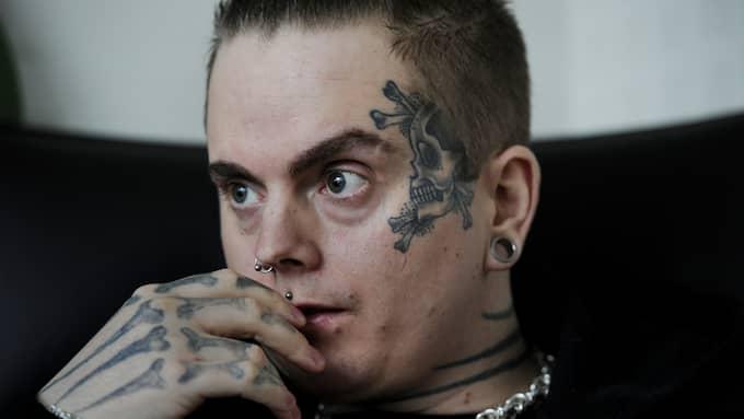 Skara-kannibalen Isakin Drabbad hotade en handläggare på Patent- och registreringsverket. Foto: ROBBAN ANDERSSON