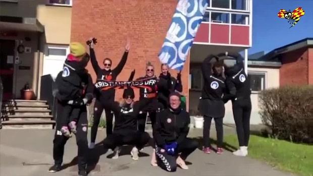 Här håller allsvenska laget i gympapass – för äldre i karantän