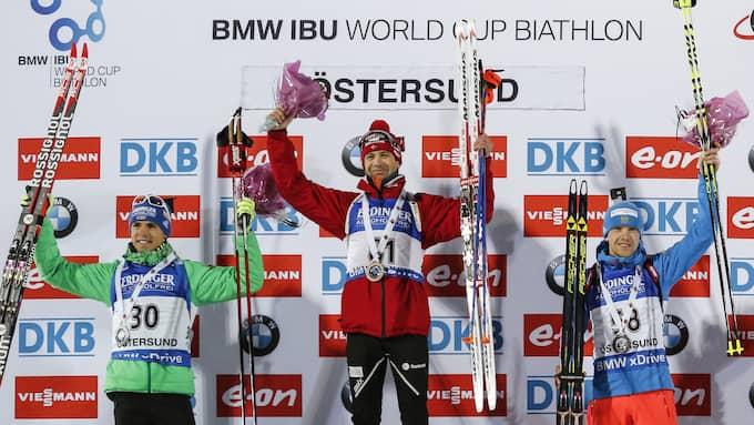 Ole Einar Björndalen har vunnit åtta OS-guld. Foto: CHRISTINE OLSSON/TT / TT NYHETSBYRÅN