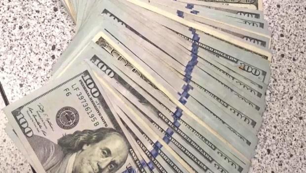 Tonåring hittade 90 000 kronor på gatan