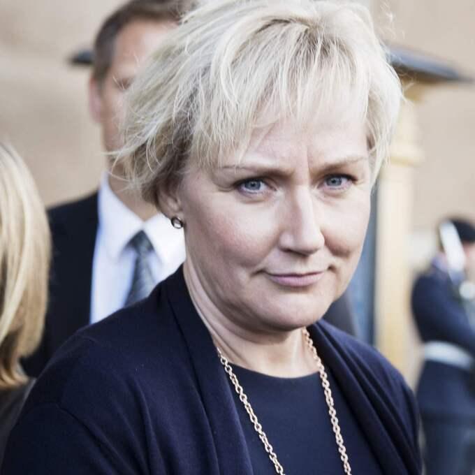 Helene Hellmark Knutsson (S), minister för högre utbildning och forskning, är ansvarig för beslutet att lägga ner Medelhavsinstituten. Foto: Lisa Mattisson Exp