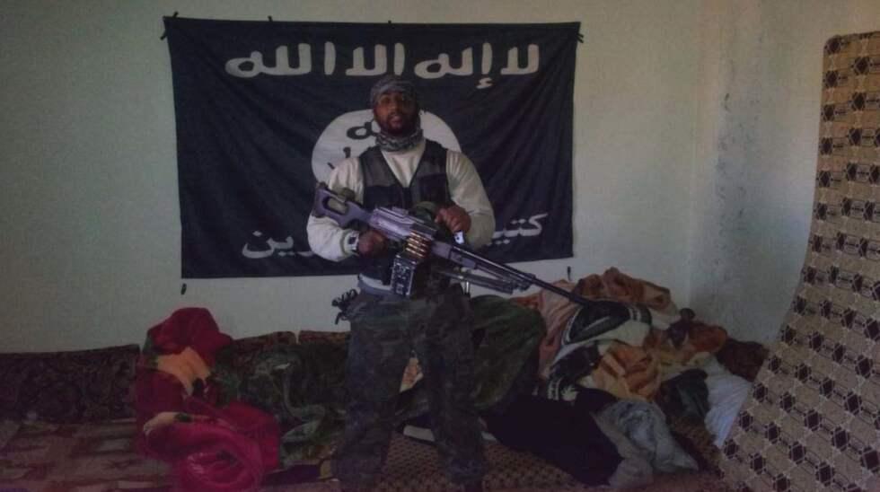 Sultan Al Amin, 31, avtjänar fängelsestraff i Sverige. Foto: / POLISEN
