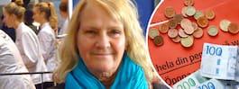 Margit, 70, har inte råd med tandläkarbesök