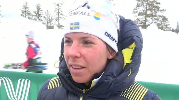 Charlotte Kalla om kaoset inför tävlingen