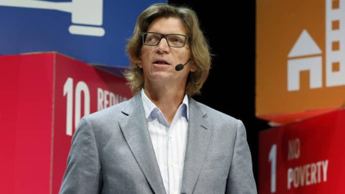 Skypegrundaren och riskkapitalisten Niklas Zennström dömer ut företag som inte kan förena sin affärsmodell med hållbarhet. Foto: Johan Jeppsson