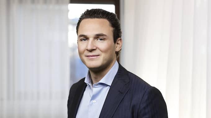 Den utpekade nyckelfiguren och grundaren av skandalbolaget Allra: Alexander Ernstberger. Foto: / ALLRA