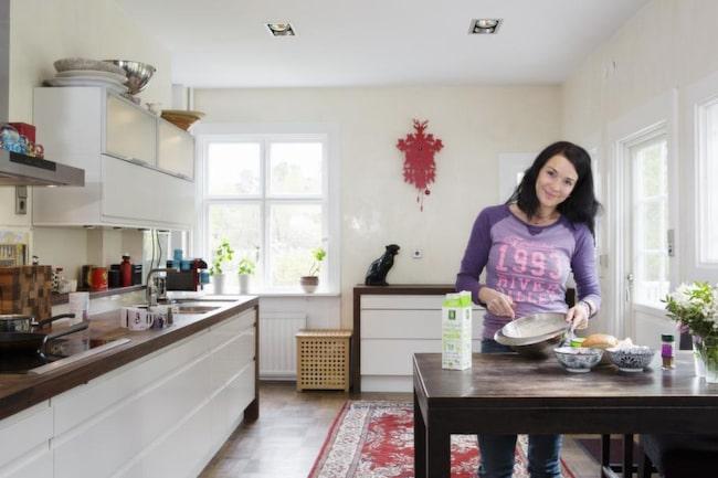"""Sofia tipsar: """"Det bästa knepet för att få goda bullar och kakor är smör – mycket smör""""."""
