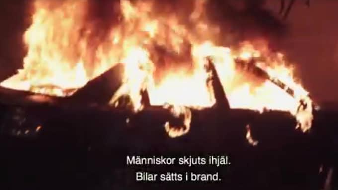 Göteborgsmoderaternas kampanjfilm har fått kritik. Foto: Skärmdump Nya Moderaterna i Göteborg