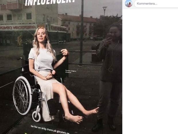 Arbetsförmedlingen plockar ner kritiserade affischerna