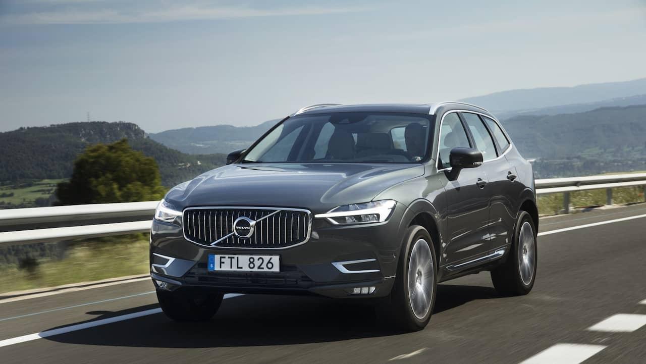 Volvo xc60 utsedd till arets bil 2018