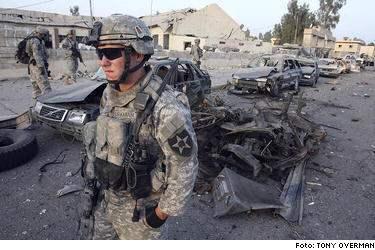 Höga dödstal. Oktober har varit en påfrestande månad för USA:s trupper i Irak.