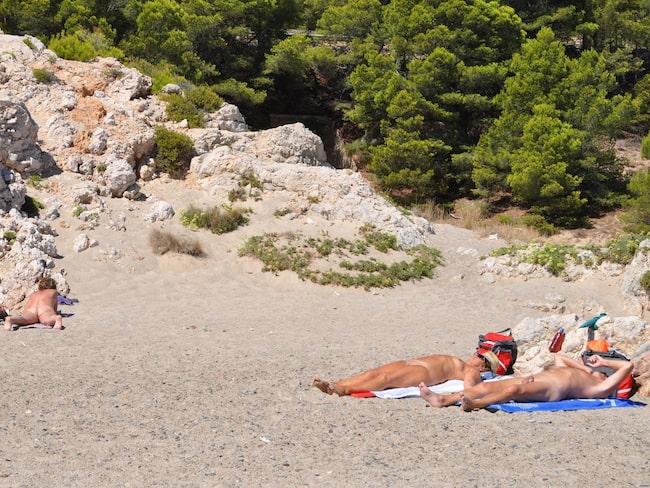 stjärtar bilder nudister på stranden