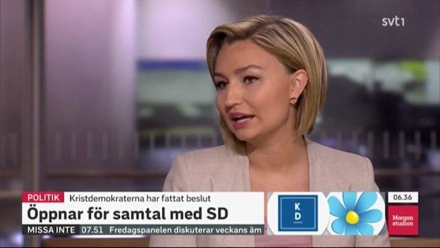 """Ebba Busch Thor: """"Det här ändrar hela grunden"""""""