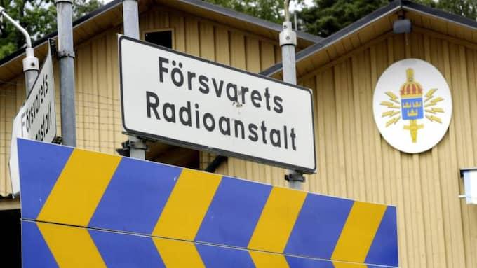 FRA. Foto: Gunnar Lundmark / Svd / Scanpix