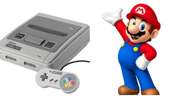Super Mario är ett av de klassiska spelen som väntas lanseras till den nya miniversionen av Super Nintendo.