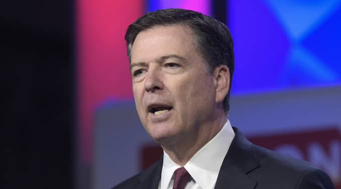 FBI-chefen James Comey sparkas av Donald Trump. Foto: Susan Walsh / AP/ TT