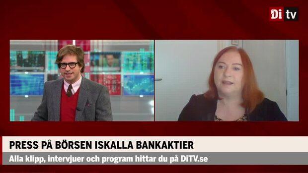 Press på börsens iskalla bankaktier