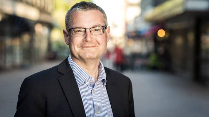 Jonas Ransgård (M), oppositionsledare i Göteborg. Foto: JESPER ORRBECK