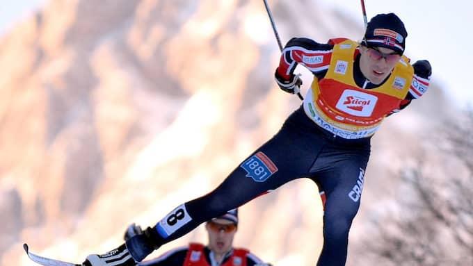 Magnus Krog är ett av hoppen i nordisk kombination Foto: BARBARA GINDL / EPA / TT / EPA TT NYHETSBYRÅN