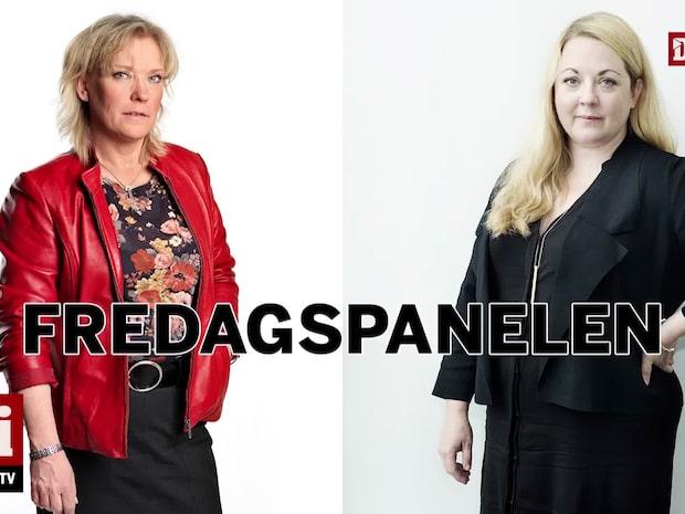 Fredagspanelen med Lotta Gröning och Rebecka Weidmo Uvell