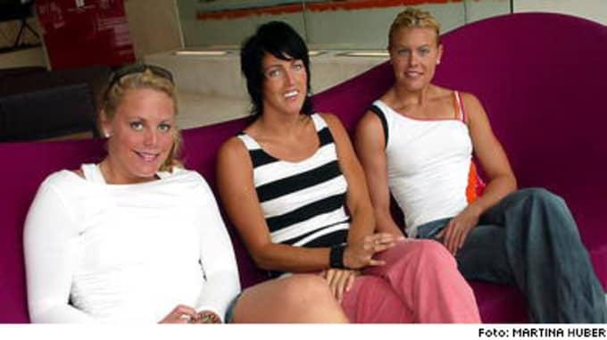 Emma Igelström Picture: Supertrion Har Guldsits Inför VM