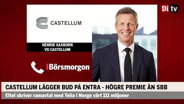 Castellums vd om budkriget med SBB: Vi har en starkare ställning