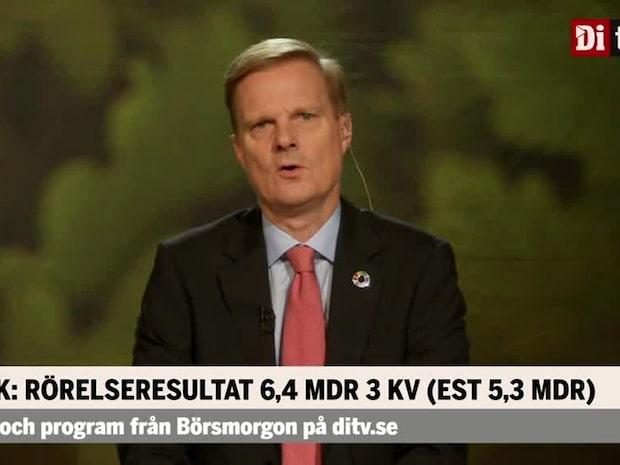 """Jens Henriksson, vd Swedbank: """"Ytterligare starkt kvartal i osäkra tider"""""""