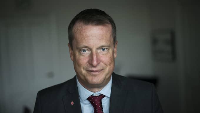 Anders Ygeman, gruppledare för Socialdemokraterna i riksdagen Foto: MELI PETERSSON ELLAFI