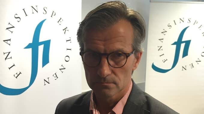Att låna till rörlig ränta har blivit norm i Sverige, säger Finansinspektionens generaldirektör Erik Thedéen. Foto: Fredrik Samuelson