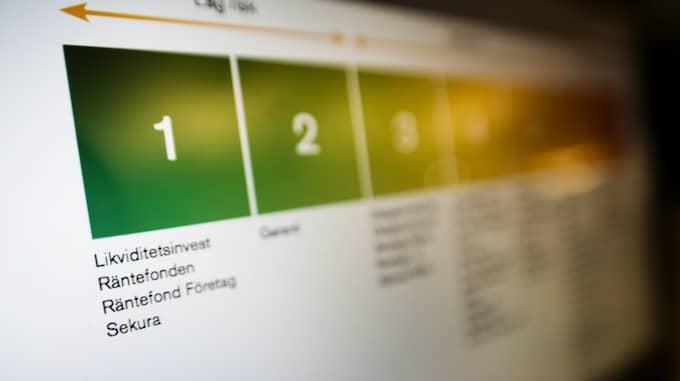 Att spara i fonder är populärt bland svenskarna – och nu slår fondsparandet rekord. Foto: Alexander Mahmoud / DN / TT NYHETSBYRÅN