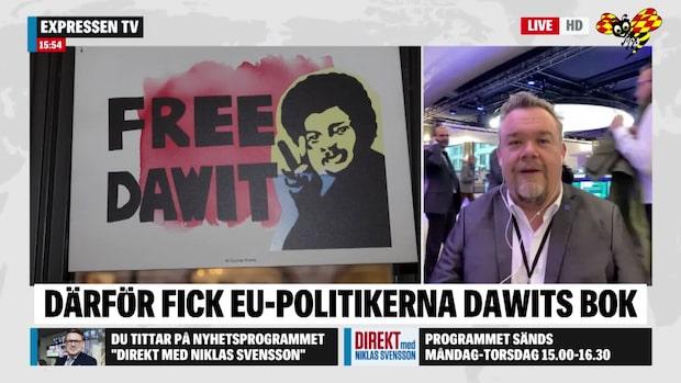 """David Lega: """"Därför delade vi ut Dawits bok"""""""