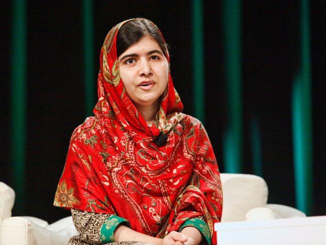 Malala Yousafzai har fått Nobels fredspris för sitt arbete med att uppmärksamma flickor och kvinnors rättigheter.