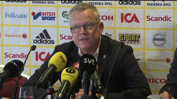 """Andersson: """"Det handlar om att visa respekt"""""""