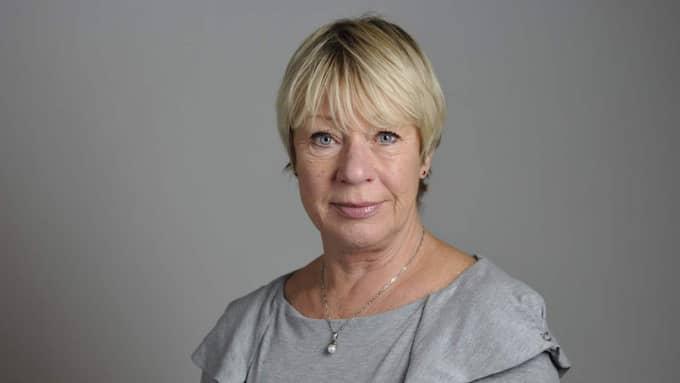 Wiwi-Anne Johansson, Vänsterpartiet. Foto: Henrik Montgomery/TT