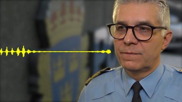 Hör rikspolischefen i lördagsintervjun om gängskjutningar