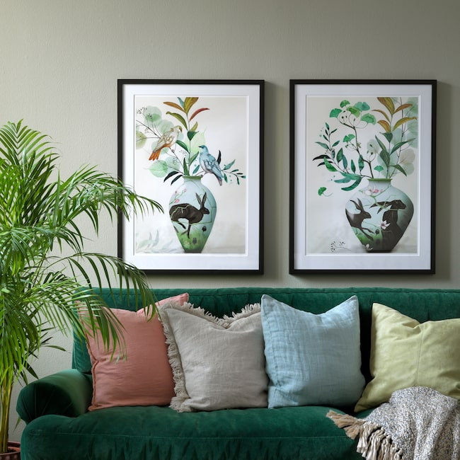 """<span>Nu släpper vi nya kollektionen """"Deco paradise"""" av konstnären Anna Handell.</span>"""