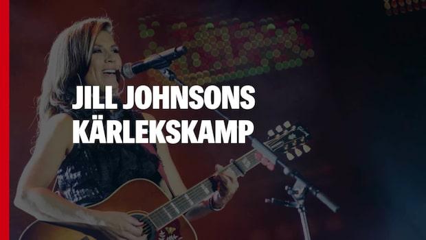 Jill Johnson sjunger om skilsmässan
