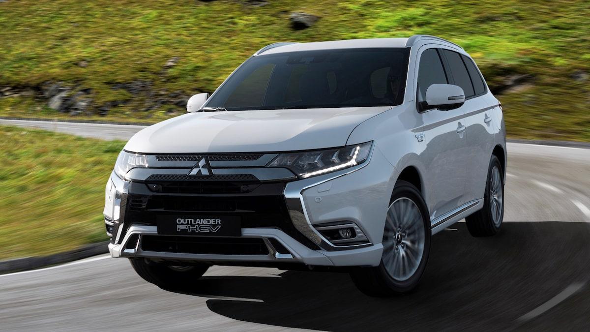 TEST: Mitsubishi Outlander PHEV ligger helt rätt i tiden ...