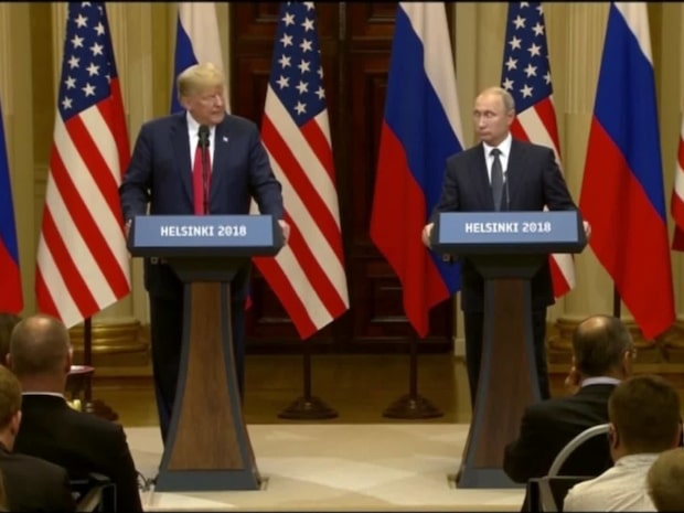 Trump och Putin förnekar rysk inblandning i amerikanska valet