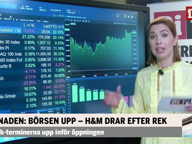 Marknaden: Börsen upp – H&M drar efter rek