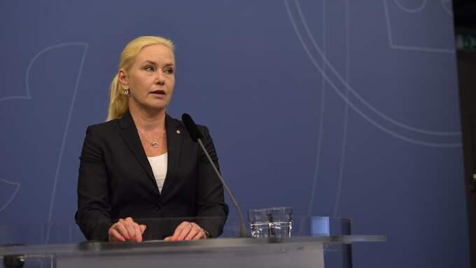 På tisdagen meddelade infrastrukturministern att Transportstyrelsens ordförande Rolf Annerberg har bett om att få lämna sitt uppdrag. Foto: ERIK SIMANDER/TT / TT NYHETSBYRÅN
