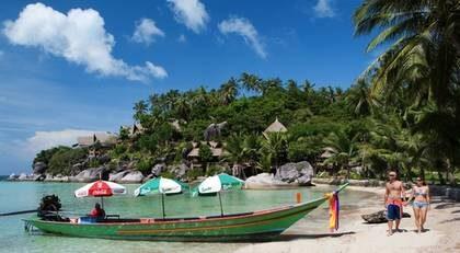Thailands västkust är favoriten i februari.