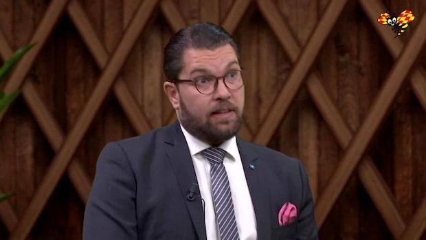 Jimmie Åkesson: Vill få fler att återvandra